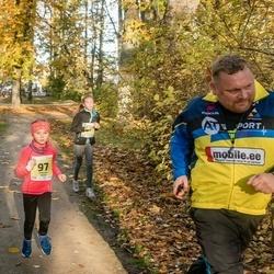 45. Saaremaa kolme päeva jooksu noortejooks - Martha Trees (97), Susanna Pappel (207)
