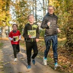 45. Saaremaa kolme päeva jooksu noortejooks - Joosep Õispuu (133), Janar Mahla (182)