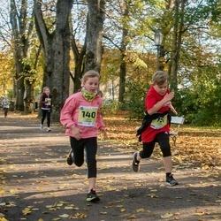 45. Saaremaa kolme päeva jooksu noortejooks - Lisete Treier (140), Sebastian Veinpere (151)