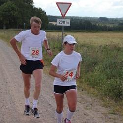 IV Mulgi maraton - Mari Boikov (24), Arvi Tõnnison (28)