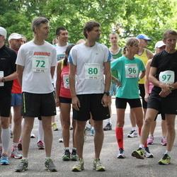 IV Mulgi maraton - Ülo Urb (72), Jaanus Urb (80), Maren Aab (82), Elin Ilves (96), Tõnu Ilves (97)