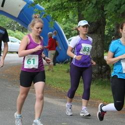 IV Mulgi maraton - Liis Andresen (61), Nele Andresen (62), Toomas Aas (78), Kadri-Liis Külm (83)