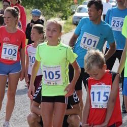 IV Mulgi maraton - Kalle Lillemets (101), Kelina Lillemets (102), Liis Grete Atonen (105), Morten Siht (115)