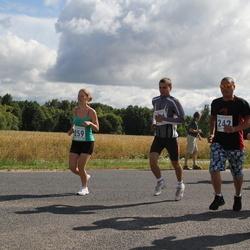 IV Mulgi maraton - Aarne Küper (242), Talvi Maasepp (259)