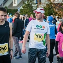 45. Saaremaa kolme päeva jooks - Leonid Homin (560), Priit Toru (710)