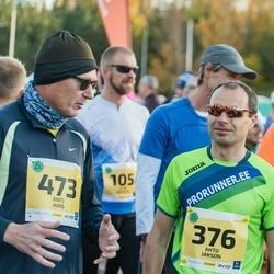 45. Saaremaa kolme päeva jooks - Ahto Jakson (376), Mati Jams (473)