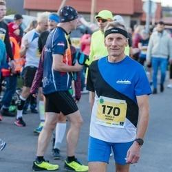 45. Saaremaa kolme päeva jooks - Arnold Nõmm (170), Mirtel Paimre (170)