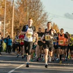 45. Saaremaa kolme päeva jooks - Ilja Nikolajev (2), Andi Noot (697)