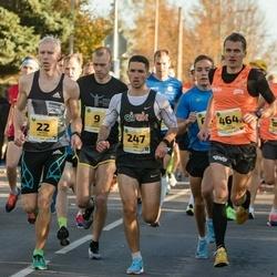 45. Saaremaa kolme päeva jooks - Jaanus Kallaste (22), Rica Veevo (22), Ülari Kais (247), Tõnu Lillelaid (464)