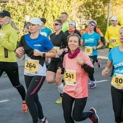 45. Saaremaa kolme päeva jooks - Kristi Siibak (80), Elisabeth Vallner (80), Triin Kink (264), Maris Leiaru (541)