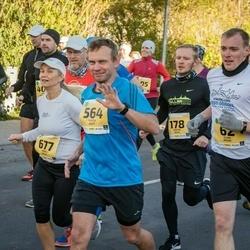 45. Saaremaa kolme päeva jooks - Indrek Matt (564), Anneli Jõela (677)
