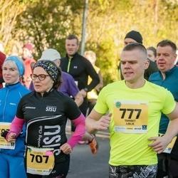 45. Saaremaa kolme päeva jooks - Sointi Hyttinen (707), Tambet Liblik (777)