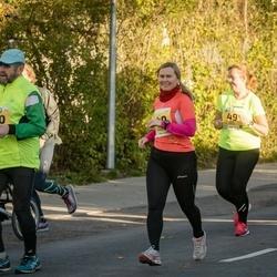 45. Saaremaa kolme päeva jooks - Arge Kuuder (140), Lisete Treier (140), Matti Silber (190), Henri Hunt (190)