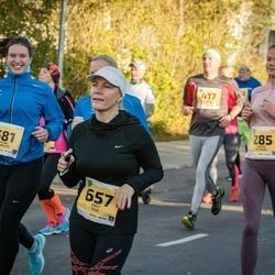 45. Saaremaa kolme päeva jooks - Galina Dakinevitš (581), Piret Tuul (657)