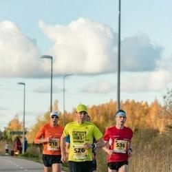 45. Saaremaa kolme päeva jooks - Margus Pirksaar (218), Liisa Nõmm (218), Ranno Erala (526), Allan Männi (536)