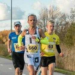 45. Saaremaa kolme päeva jooks - Jürgen Külm (63), Brigitte Panker (63), Madis Osjamets (226), Janar Juhkov (660)