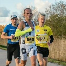 45. Saaremaa kolme päeva jooks - Jürgen Külm (63), Brigitte Panker (63), Janar Juhkov (660)