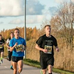 45. Saaremaa kolme päeva jooks - Kevin Ervald (644), Kaur Siimaste (666)