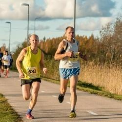 45. Saaremaa kolme päeva jooks - Olav Paris (442), Tarmo Mändla (683)