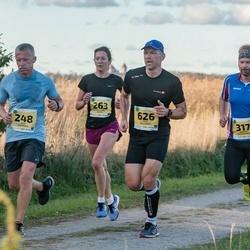 45. Saaremaa kolme päeva jooks - Ando Hermsalu (248), Viivi-Anne Soots (263), Margus Klementsov (317), Aivo Kaljumäe (626)