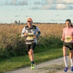 45. Saaremaa kolme päeva jooks - Teedo Melts (409), Helina Pärn (463)