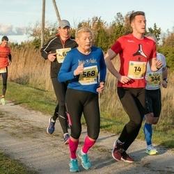 45. Saaremaa kolme päeva jooks - Kristjan Lukk (14), Merike Muru (568)