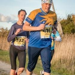 45. Saaremaa kolme päeva jooks - Edit Kannel (302), Maris Heinols (416)