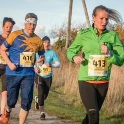 45. Saaremaa kolme päeva jooks - Anneli Ratassepp (413), Maris Heinols (416)
