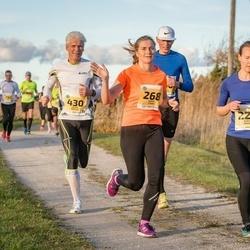 45. Saaremaa kolme päeva jooks - Kersti Jääger (228), Sigrid Turja (268), Kaupo Koplus (430)