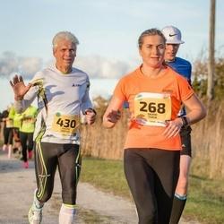 45. Saaremaa kolme päeva jooks - Sigrid Turja (268), Kaupo Koplus (430)
