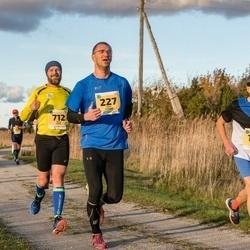 45. Saaremaa kolme päeva jooks - Raul Mändla (227), Raul Vinni (712)