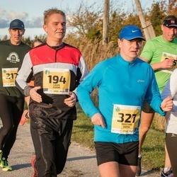 45. Saaremaa kolme päeva jooks - Kairi Ustav (57), Lauri Eskor (194), Kristjan Ööpik (327)