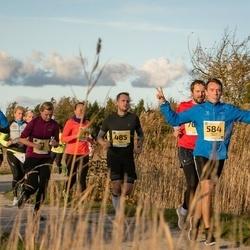 45. Saaremaa kolme päeva jooks - Karl Pehk (485), Meelis Mütt (584)