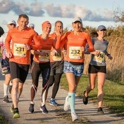 45. Saaremaa kolme päeva jooks - Jana Veenpere (145), Andres Veenpere (148), Janno Kaljuvee (231), Diana Kaljuvee (232), Eveli Rebane (514)