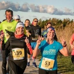 45. Saaremaa kolme päeva jooks - Aurika Reiles (53), Silja Põder (139), Kätlin Atonen (186)