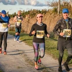 45. Saaremaa kolme päeva jooks - Kaido Rosin (111), Valev Altmets (333), Bruno Tammaru (800), Kristina Uibo (888)