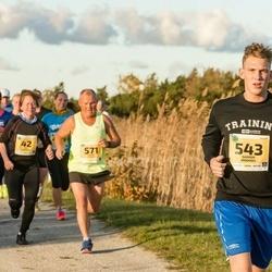 45. Saaremaa kolme päeva jooks - Mai Viirmann (42), Janek Saar (538), Saimon Moondu (543), Andrei Lopsik (571)