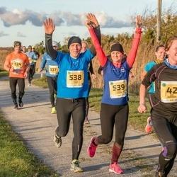45. Saaremaa kolme päeva jooks - Mai Viirmann (42), Janek Saar (538), Tiina Kadak (539)