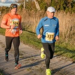 45. Saaremaa kolme päeva jooks - Kuido Rooba (337), Kaarel Kender (524)