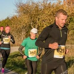 45. Saaremaa kolme päeva jooks - Peep Ristmägi (342), Jaana Leidas-Meerits (510), Silver Tulik (629)