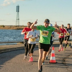 45. Saaremaa kolme päeva jooks - Kairi Ustav (57), Martin Ilja (695)