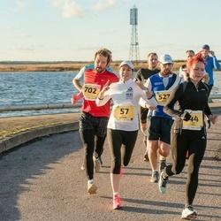 45. Saaremaa kolme päeva jooks - Kairi Ustav (57), Edgari Treier (527), Siim Palu (702)