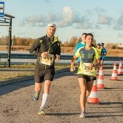 45. Saaremaa kolme päeva jooks - Janika Jürgenson (295), Siim Leisalu (449)