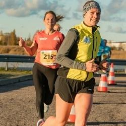 45. Saaremaa kolme päeva jooks - Moonika Kitt (133), Annely Saar (215)