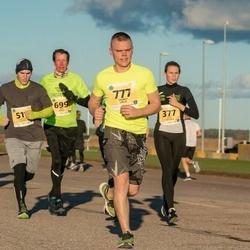 45. Saaremaa kolme päeva jooks - Berit Rohtjärv (377), Niklass Kalnins (511), Rain Arnus (699), Tambet Liblik (777)
