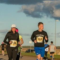 45. Saaremaa kolme päeva jooks - Gerly Vahe (518), Saimon Moondu (543)