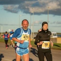 45. Saaremaa kolme päeva jooks - Merli Suu (19), Roman Rannisto (471)