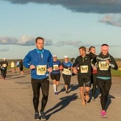 45. Saaremaa kolme päeva jooks - Rasmus Laan (472), Jaana Leidas-Meerits (510), Silver Tulik (629)