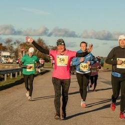 45. Saaremaa kolme päeva jooks - Maarika Reiles (54), Jane Sepp (420)