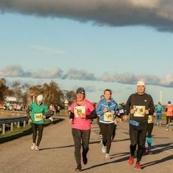 45. Saaremaa kolme päeva jooks - Maarika Reiles (54), Peep Ristmägi (342), Jane Sepp (420), Rainer Amur (616)